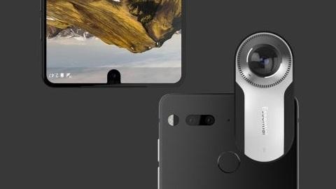 Android'in babası ilk telefonunu tanıttı: Essential PH-1