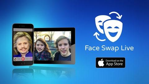 Face Swap Live iOS Yüz Değiştirme Uygulaması