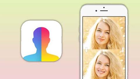 FaceApp iOS Uygulaması