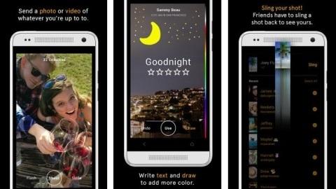 Facebook'tan Snapchat benzeri yeni bir uygulama: Slingshot