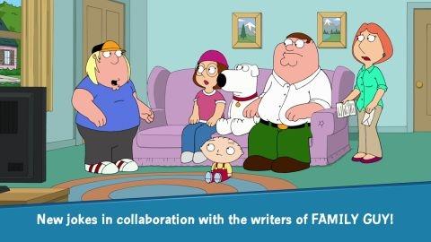 Yeni Family Guy oyunu Android ve iOS için resmen indirmeye sunuldu