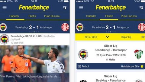 Fenerbahçe SK iOS Uygulaması