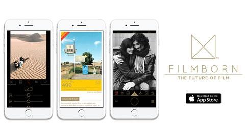 Filmborn iOS Profesyonel Fotoğraf Düzenleme Uygulaması