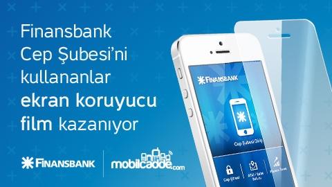 Finansbank, MobilCadde.com'dan ekran filmi kazandırmaya devam ediyor