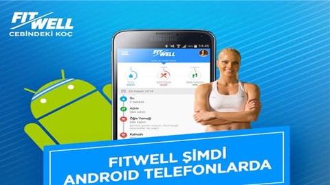 FitWell Egzersiz ve Beslenme Android uygulaması