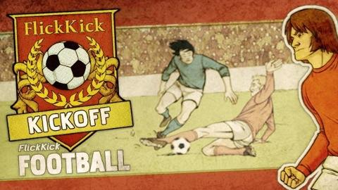 Flick Kick Football iOS ve Android oyunu ile her şeye falso vermek isteyeceksiniz