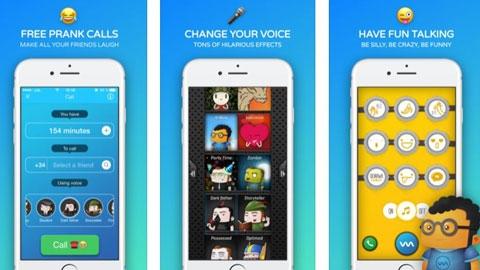 Funny Call iOS Ses Değiştirme Uygulaması