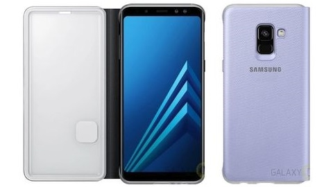 Galaxy A8 2018'in orijinal kılıf görüntüsü internete sızdı