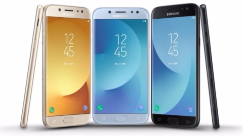 Galaxy J3 2017, J5 2017 ve J7 2017 resmiyet kazandı