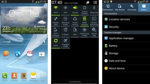 Galaxy Note 2 için Android 4.3'lü yeni bir üretici yazılımı sızdı