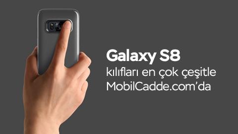 Galaxy S8 Kılıfları Henüz Telefon Tanıtılmadan MobilCadde.com'da