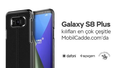 Galaxy S8 Plus Kılıfları Şimdiden MobilCadde.com'da