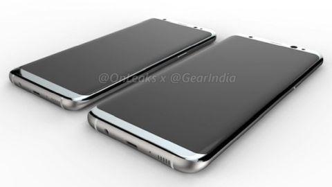 Galaxy S8 ve S8 Plus'ın ilk render videosu