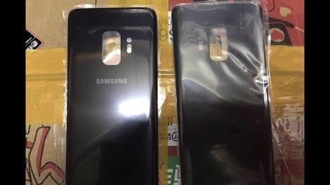Galaxy S9'un arka kapağı görüntülendi
