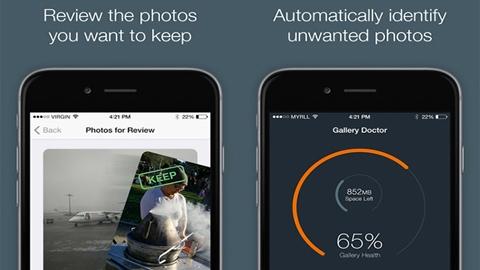 Gallery Doctor iOS Uygulaması