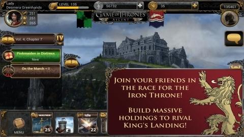 Android için Game of Thrones Ascent oyunu yayımlandı