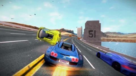 Asphalt Nitro: Gameloft'tan yeni nesil Android yarış oyunu