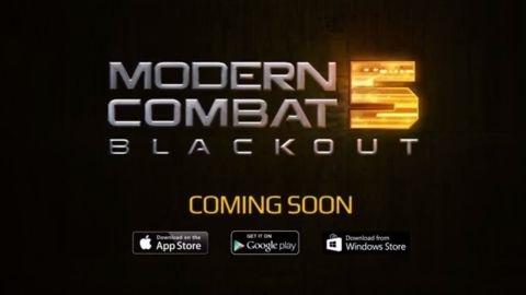 Modern Combat 5: Blackout'un ilk tanıtım videosu yayınlandı