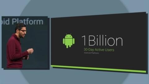 Google: Android platformu 1 milyar aktif kullanıcıya ulaştı