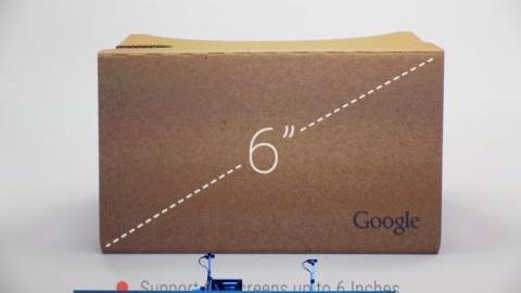 Google Cardboard, 6 inç ekran ve iPhone desteği kazandı