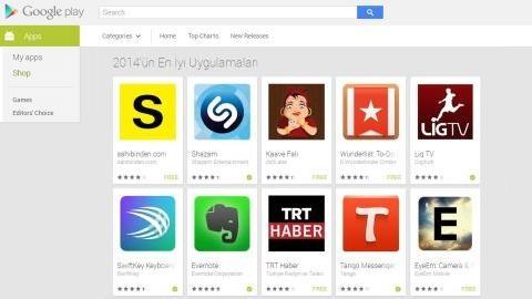 Google, 2014'ün en iyi Android uygulamalarını seçti