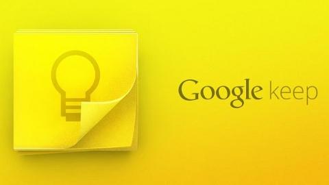 Google Keep Andorid uygulaması Web desteğiyle birlikte Play Store'da