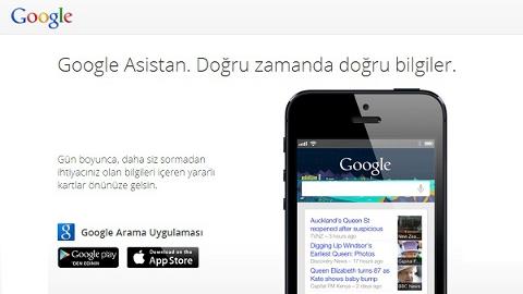 Google Now iOS uygulaması yayınlandı