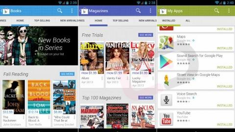 Google Play Store yeni sürümü yayınlanmaya başladı