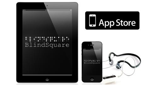 Görme engelliler için iOS uygulaması BlindSquare