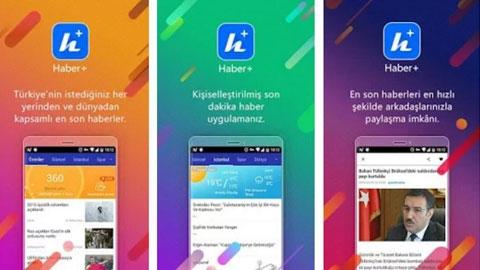 Haber+ Android Uygulaması