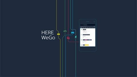 HERE WeGo Çevrimdışı iOS Harita & Navigasyon Uygulaması