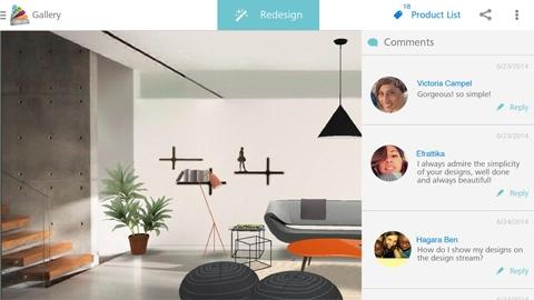 Homestyler Interior Design Android Uygulaması