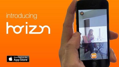 Horizon iPhone ve iPad ile Yatay Video Çekme Uygulaması
