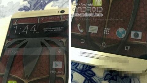 HTC One 2'ye ait ön panel görüntüsü sızdı