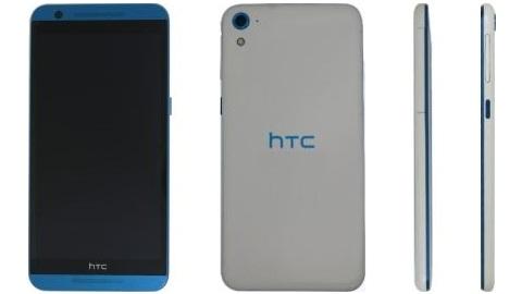HTC'nin One E9 ve Desire 820 melezi yeni telefonu görüntülendi