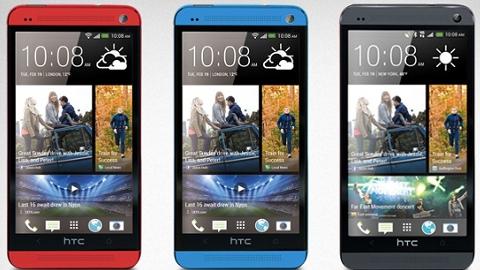 HTC One kırmızı ve mavi renklerde geliyor