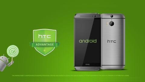 HTC One ve One M8 üç ay içerisinde Android 5.0'a güncellenecek
