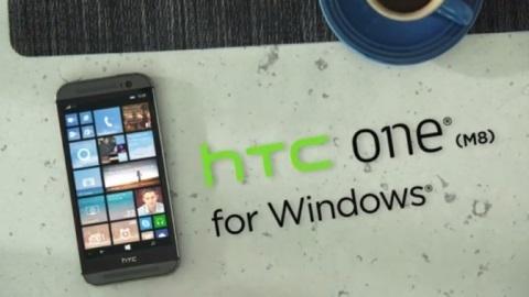 Windows işletim sistemli HTC One M8 resmen duyuruldu