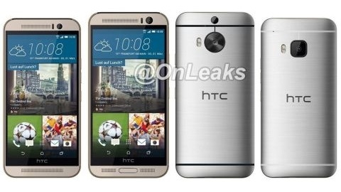 HTC One M9 Plus'tan yeni detaylar