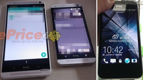 HTC One Max ve HTC Zara'ya ait yeni fotoğraflar yayımlandı