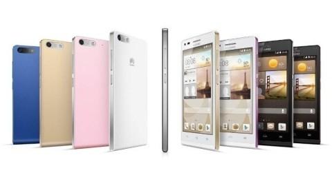 7,5 milimetre kalınlığa sahip Huawei Ascend G6 tanıtıldı