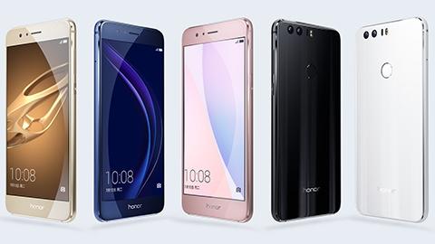 Çift arka kameralı Huawei Honor 8 tanıtıldı
