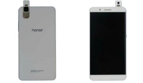 Değişik kamera mekanizmasıyla dikkat çeken yeni Huawei Honor sızdı