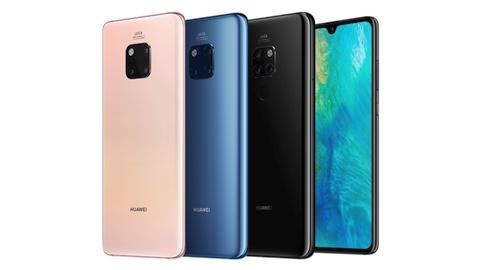 Huawei Mate 20 ve Mate 20 Pro tanıtıldı