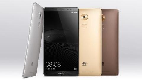 Kirin 950 çipsetli Huawei Mate 8 duyuruldu