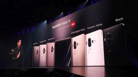 Huawei Mate 9 resmen tanıtıldı