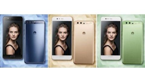 Huawei P10'un renk seçenekleri görüntülendi