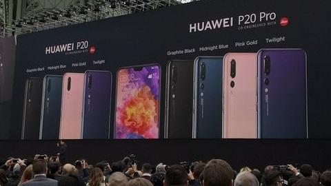 Huawei P20 ve üç arka kameralı P20 Pro duyuruldu