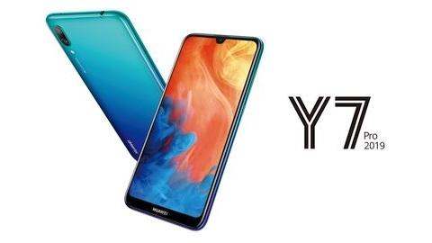 Giriş seviye Huawei Y7 Pro 2019 tanıtıldı