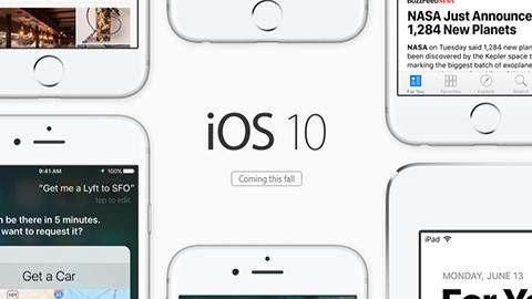 iOS 10 artık herkes tarafından test edilebiliyor